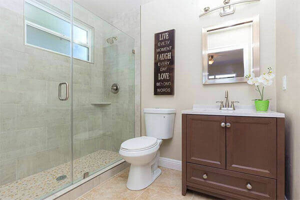 Bathroom sinks san diego the master bathroom includes for Bathroom vanities in san diego