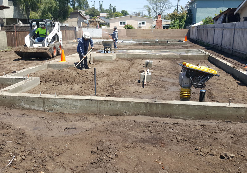 ADU Consultation, Foundation & Framing Poway