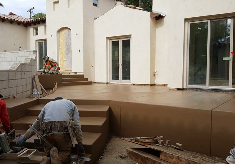 Patios & Concrete Stairs Construction Experts