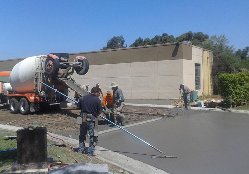New/Fresh Concrete Installation Contractor San Diego